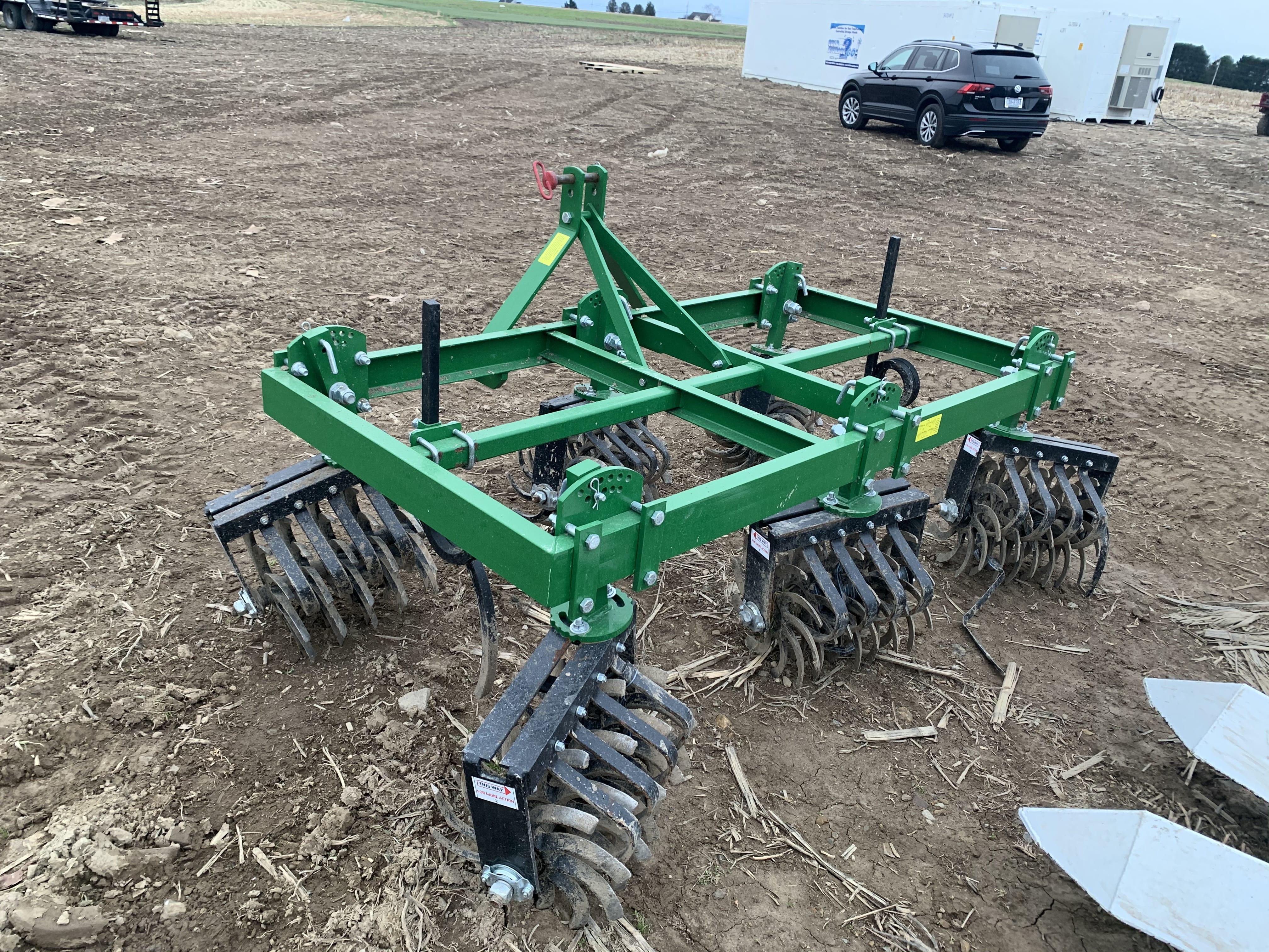 Non-Hydraulic Cultivator- Two Row Set-Up