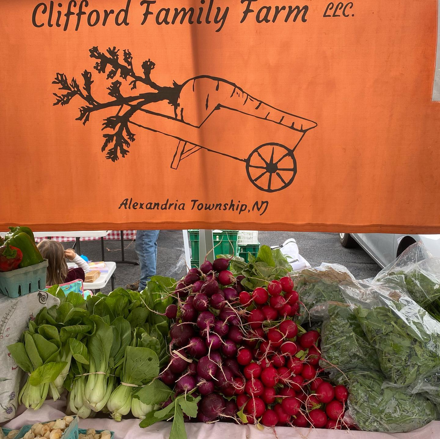 Clifford Family Farm in Frenchtown NJ is Hiring Field Hands and Farmers Market Attendants