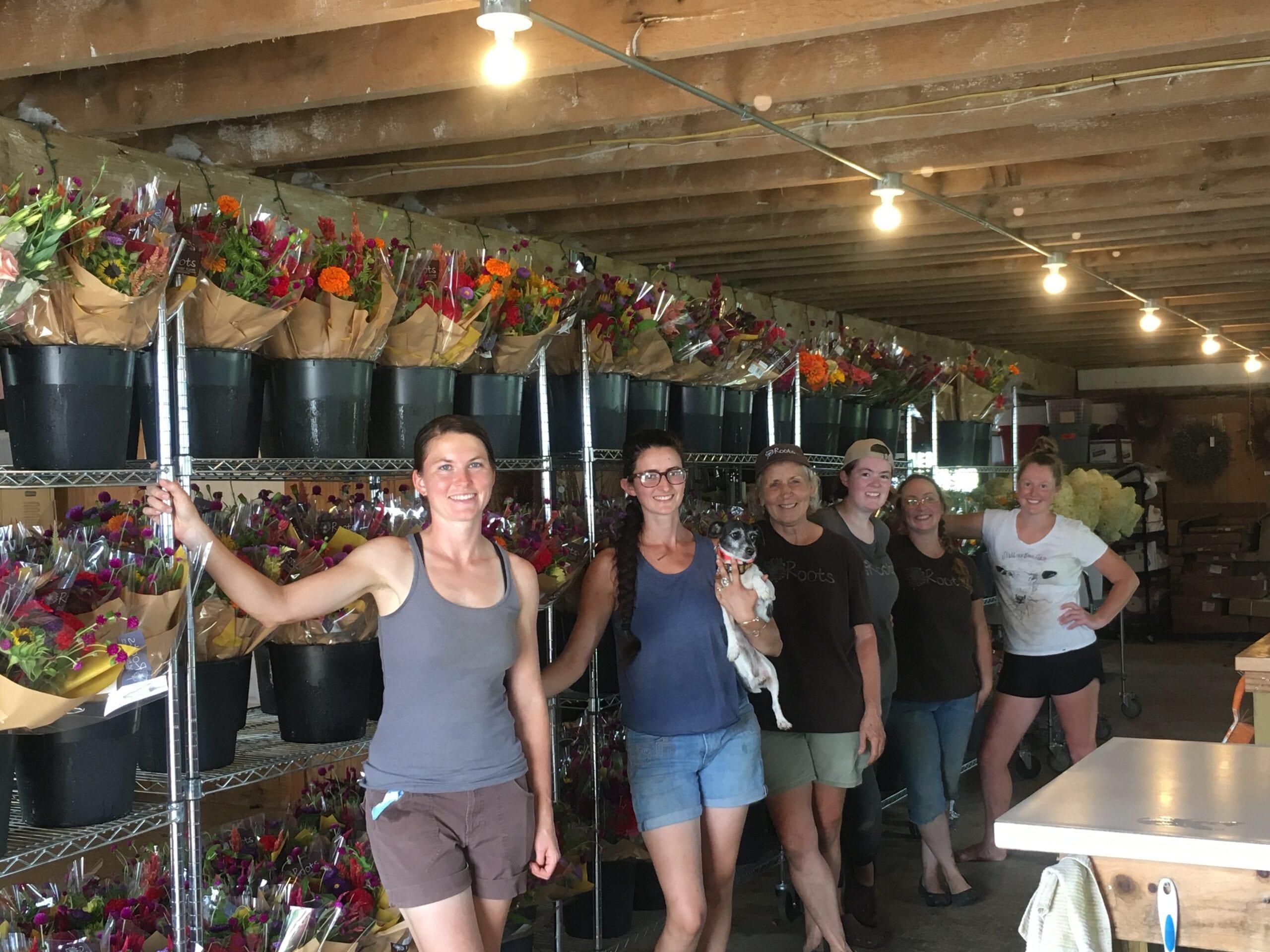 Roots Cut Flower Farm: FT & PT Flower Farmer Positions