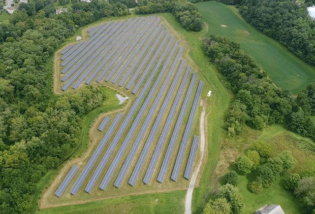 Farmer for Elizabethtown Solar Project