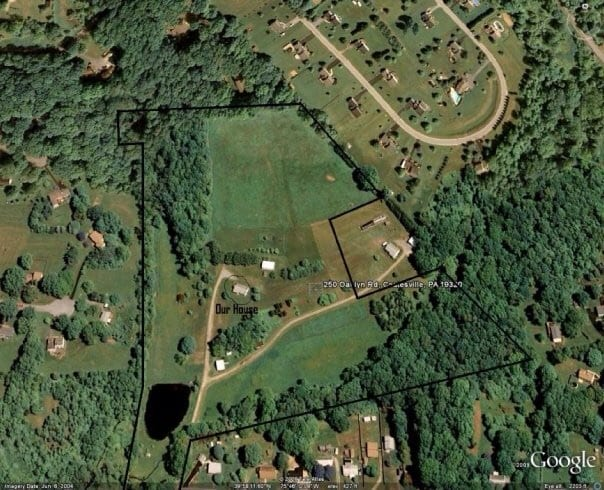 Farmland with home for sale