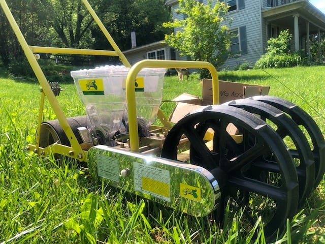 Jang JP-S Seeder and Seed Rollers